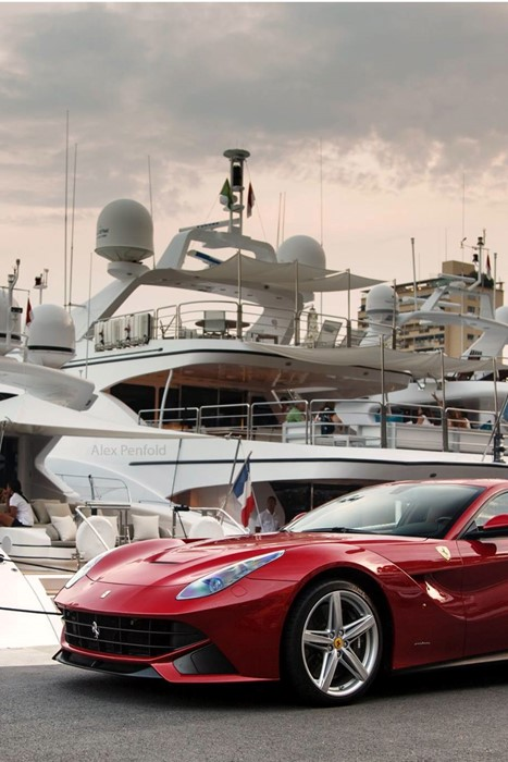 ferrari berlineta sportscar luxury yacht race competition travel action city fast