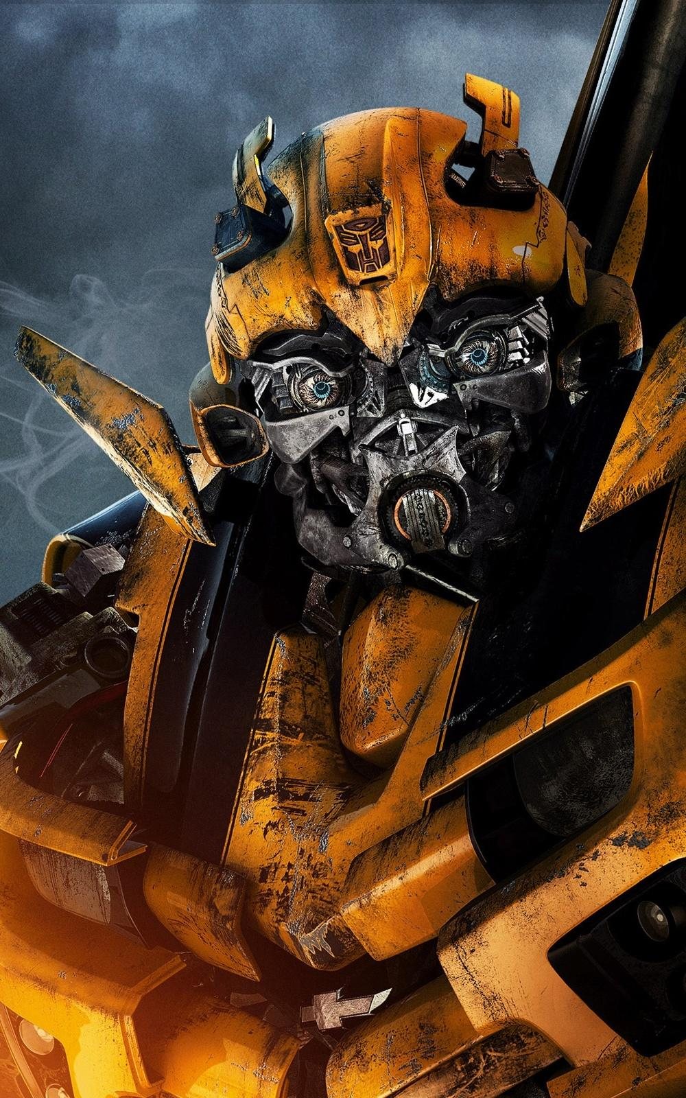 bumblebee transformer yellow machine car power machinery engine drive