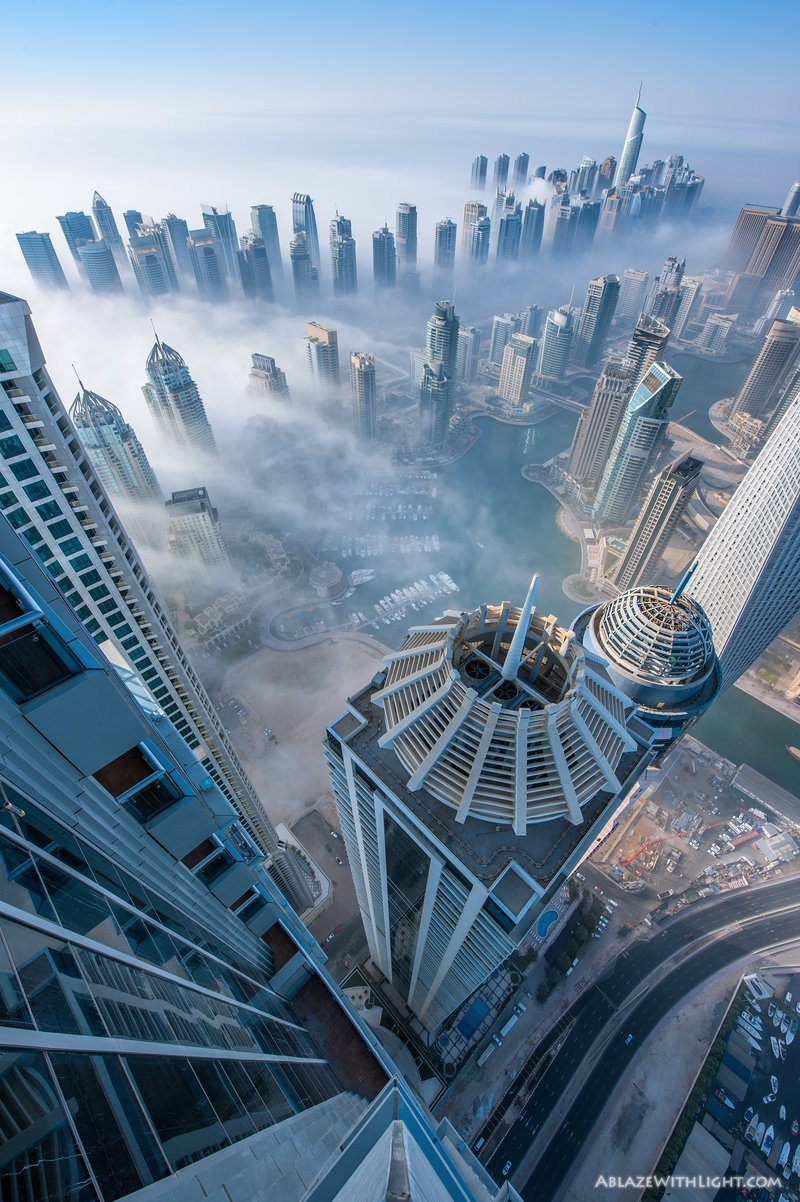 dubai city urban architecture building skyscraper travel sky office cityscape