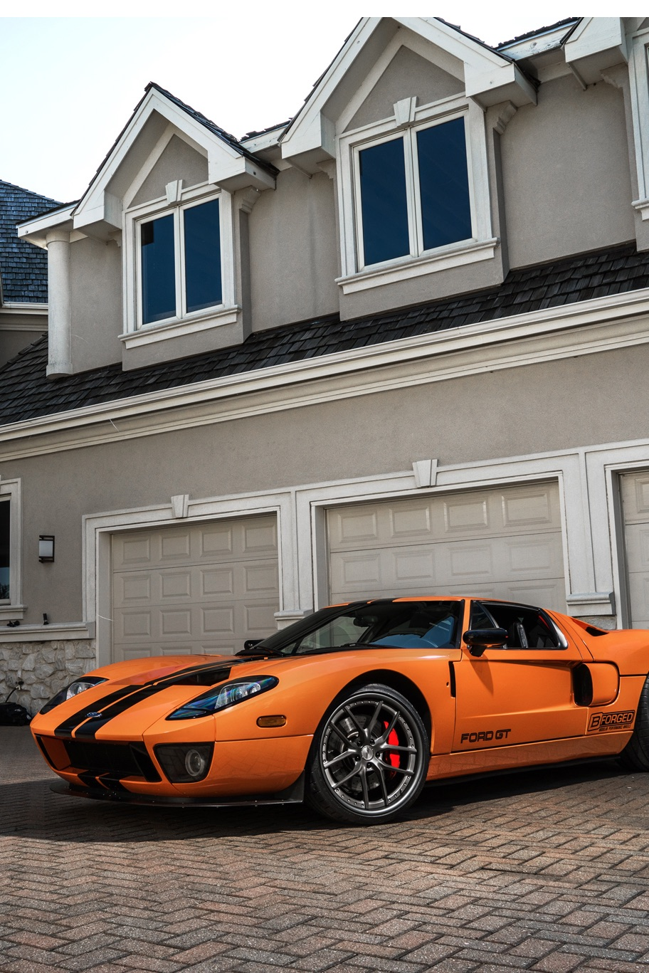 ford gt architecture house home building vehicle travel outdoors sportscar street luxury