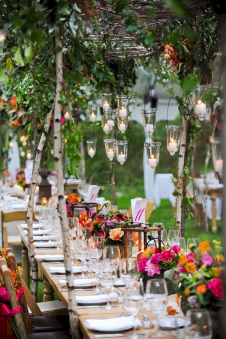 wedding table flower outdoors patio garden summer dining nature travel chair