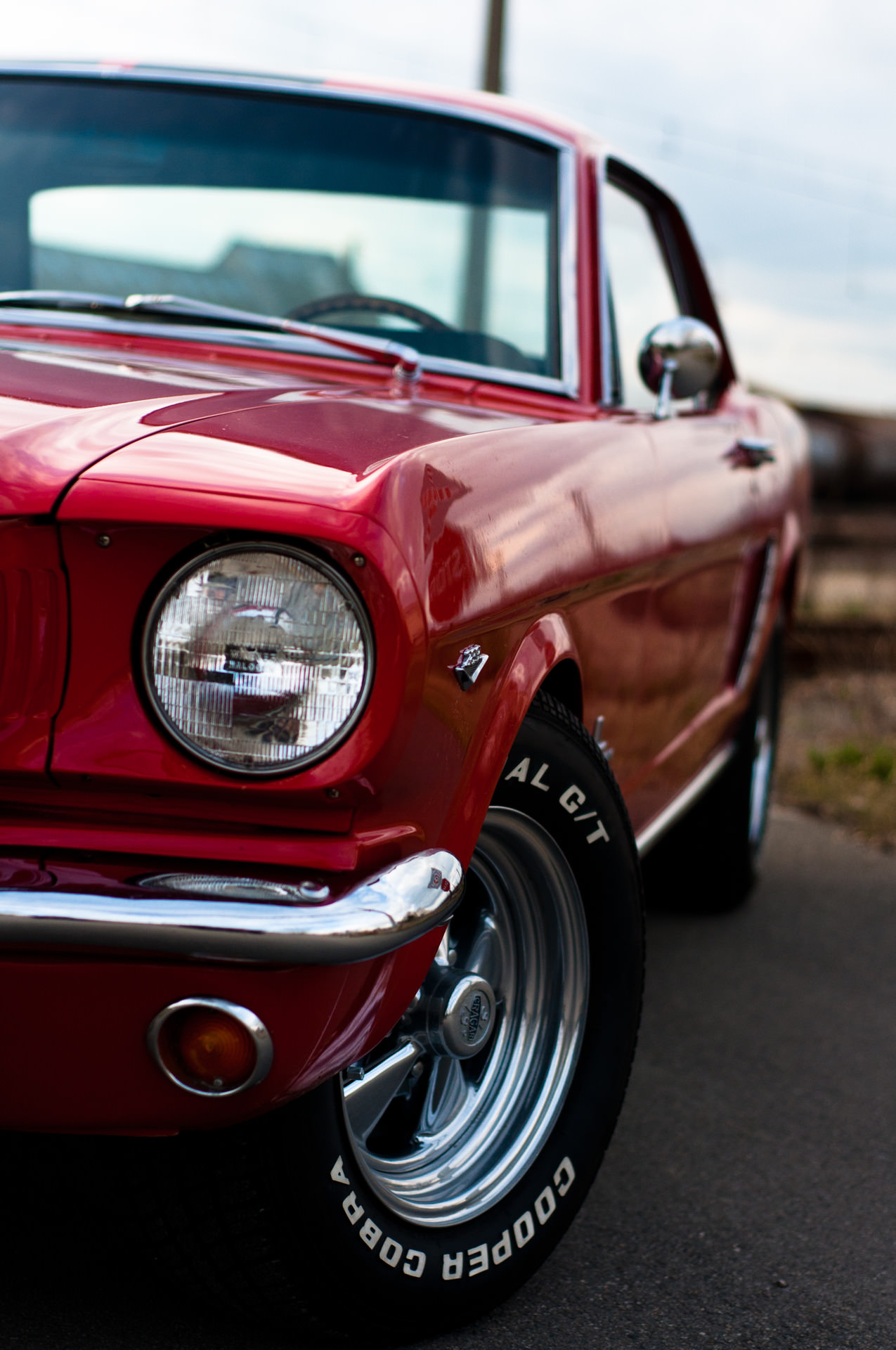 ford mustang red sportscar vehicle drive road fast wheel classic traffic
