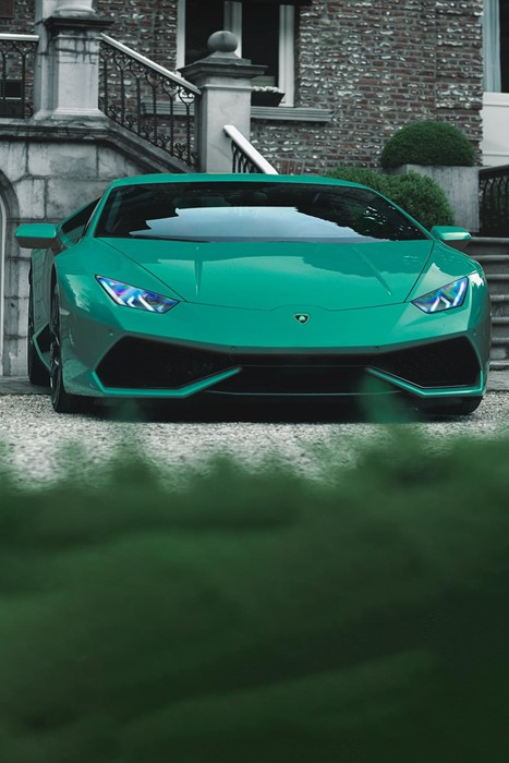 huracan lamborghini sportscar hurry luxury road action street