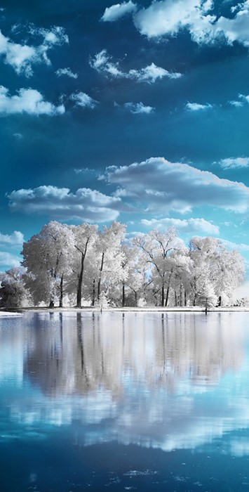 winter nature water landscape sky travel reflection lake summer
