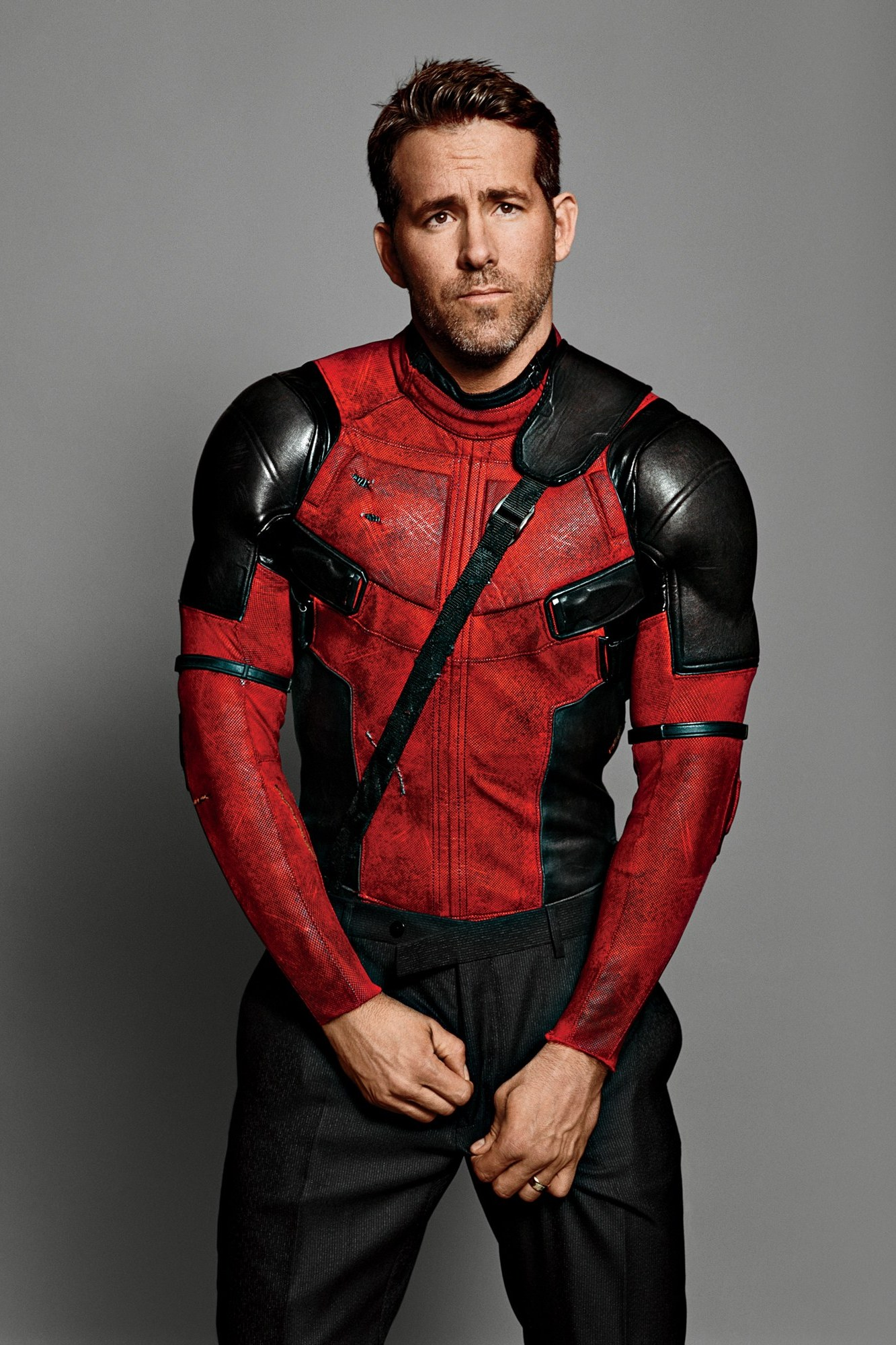 reynolds ryan man portrait deadpool  costume actor photosession