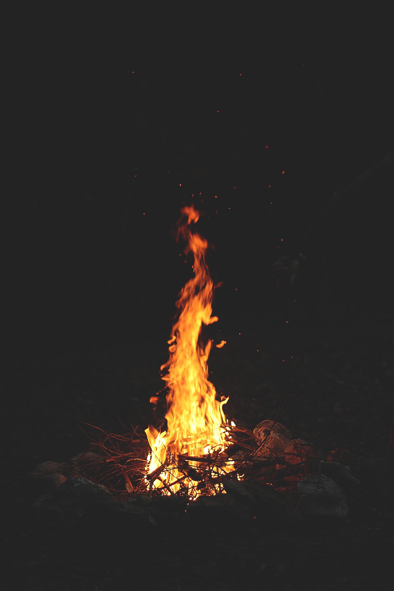 fire flame hot burn blaze bonfire smoke heat danger wildfire flammable energy