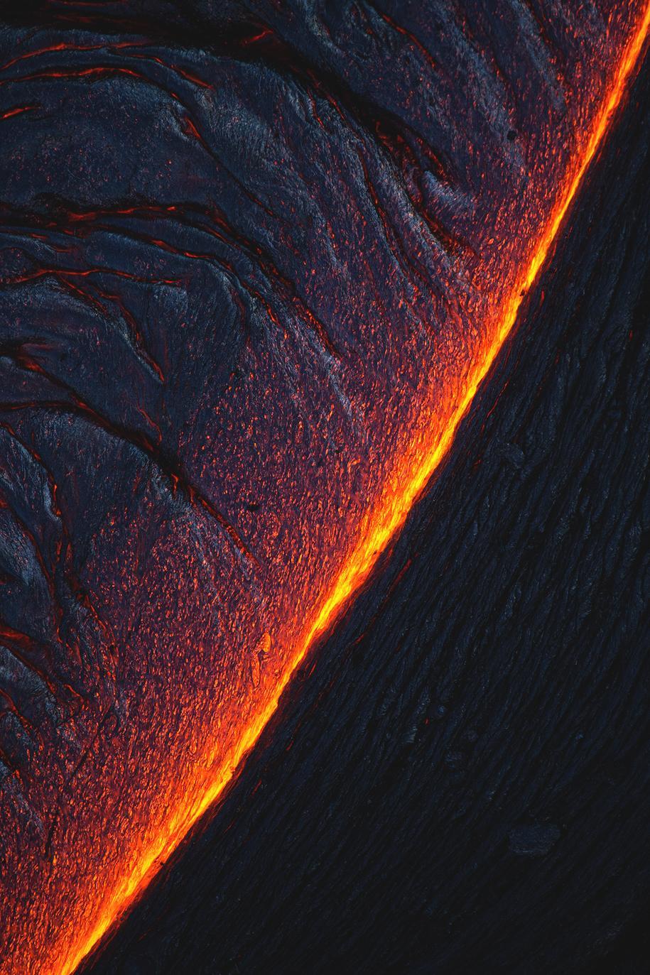 volcano black stick light mountain color space design graphic art
