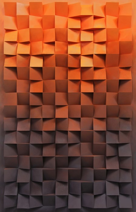 background geometric mosaic design square pattern cube illustration vector texture art