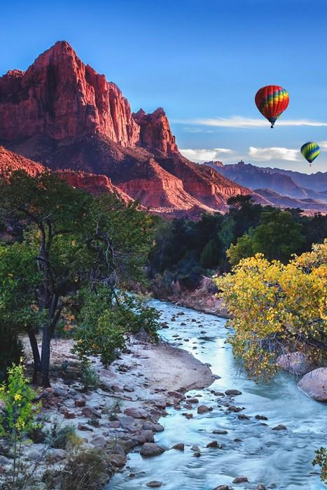 mountain river travel nature landscape water sky rock adventure sky