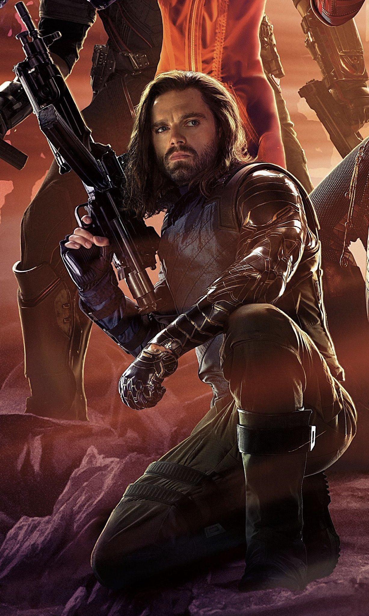bucky barnes infinitywar avengers marvel comics