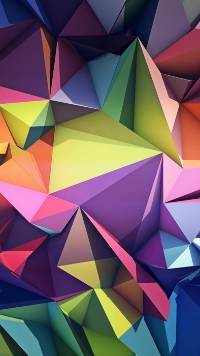 background triangle geometric illustration graphic abstract triangular design origami polygon pattern shape