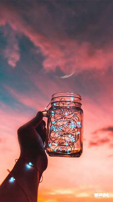 light glass drink art reflection people sky color sunset landscape