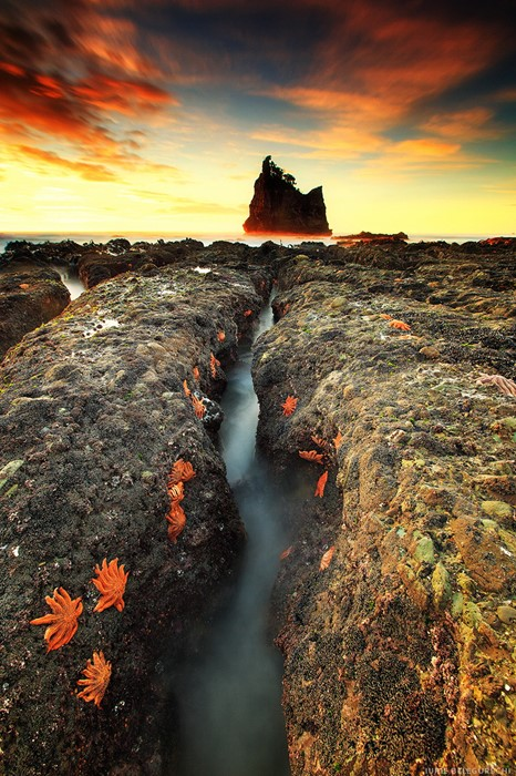 stones water sunset landscape travel river outdoors rock nature dawn evening fall