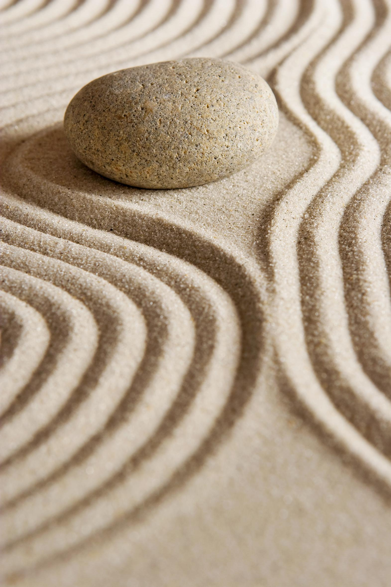 macro sand balance stone texture simplicity abstract meditation nature stability