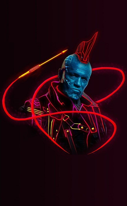 yondu guardian galaxy marvel comics illustration art dark graphic