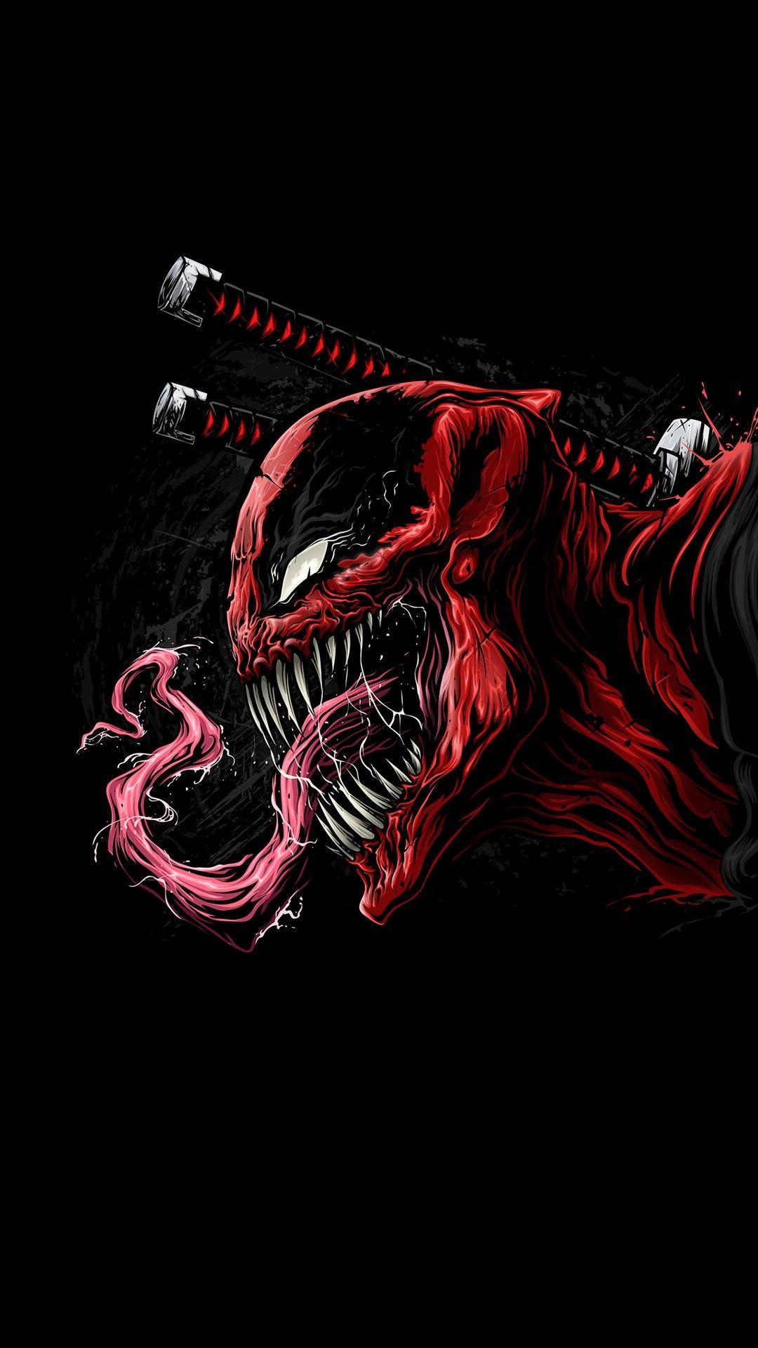 venom deadpool marver sony art black hero scary weapon comics
