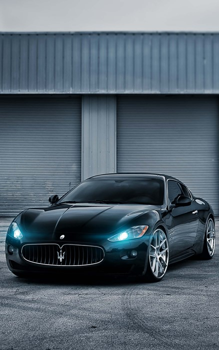 maserati granturismo car vehicle drive wheel road chrome industry modern