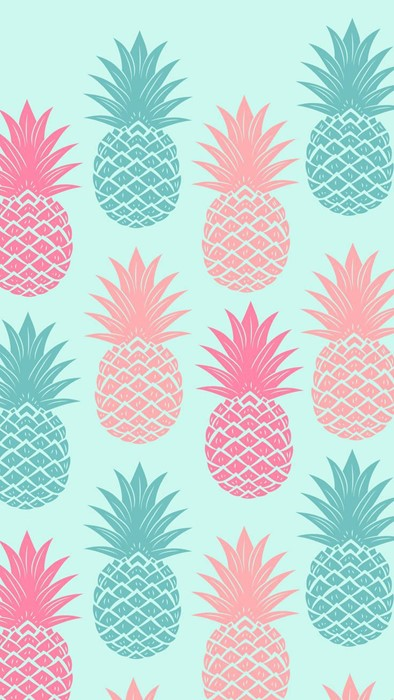 pineapple pattern design floral art element wallpaper ornament decorative flower