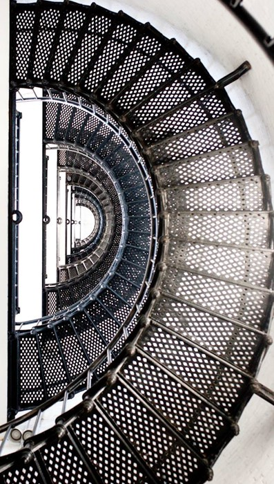 stairs step steel design modern pattern technology round iron spiral