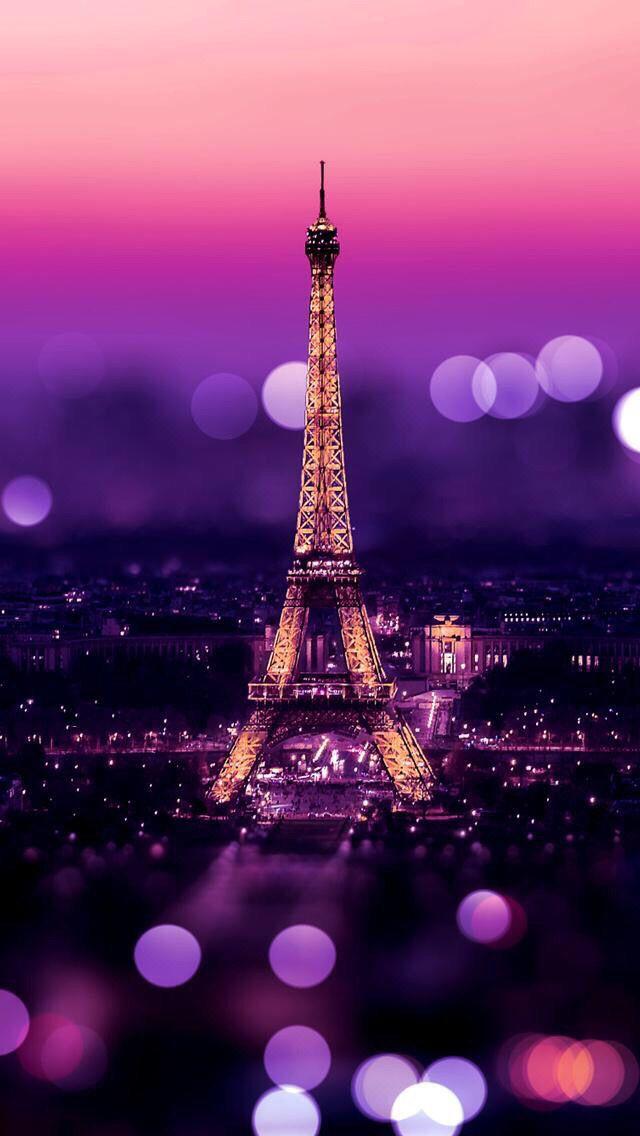 eiffel tower paris france city architecture sky evening building illuminated landmark