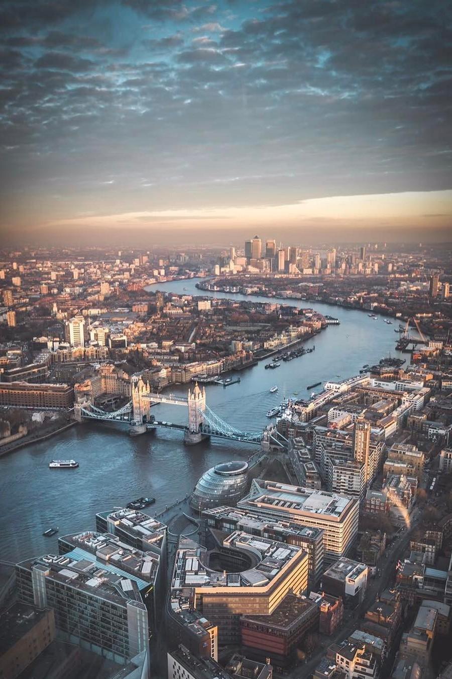 london city travel architecture cityscape harbor skyline town