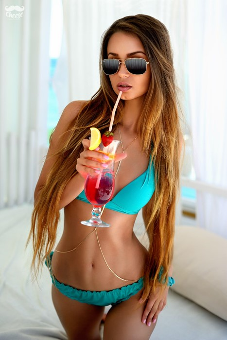 girl woman sexy bikini sunglasses girl lingerie glamour pretty swimsuit fashion leisure