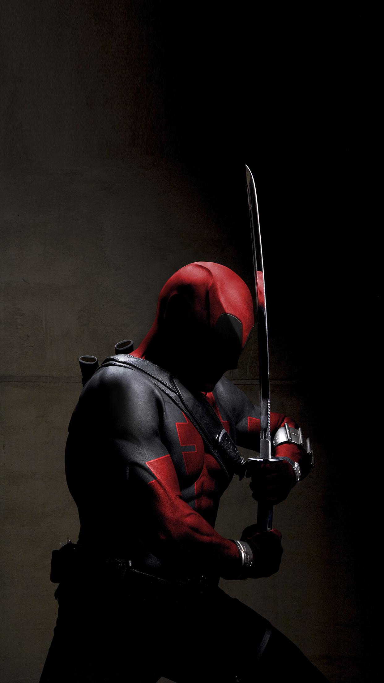 deadpool helmet man adult weapon military portrait sword competition battle
