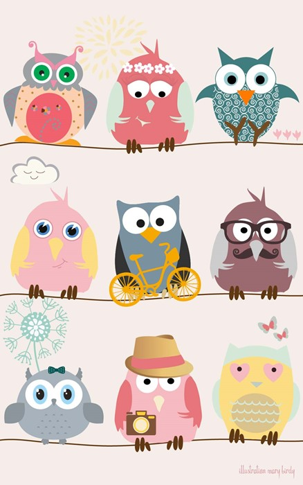 backgrounds owls sketch cute illustration fun funny character baby owl
