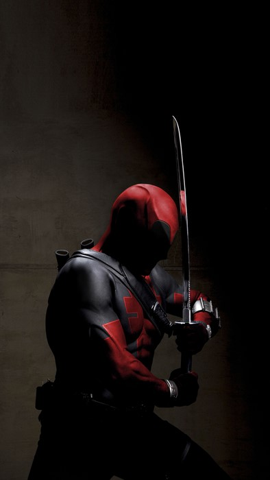 deadpool helmet man adult weapon military portrait sword competition battle