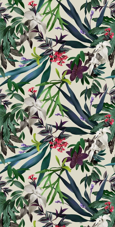 flower background flora leaf illustration art floral decoration nature tree garden print color