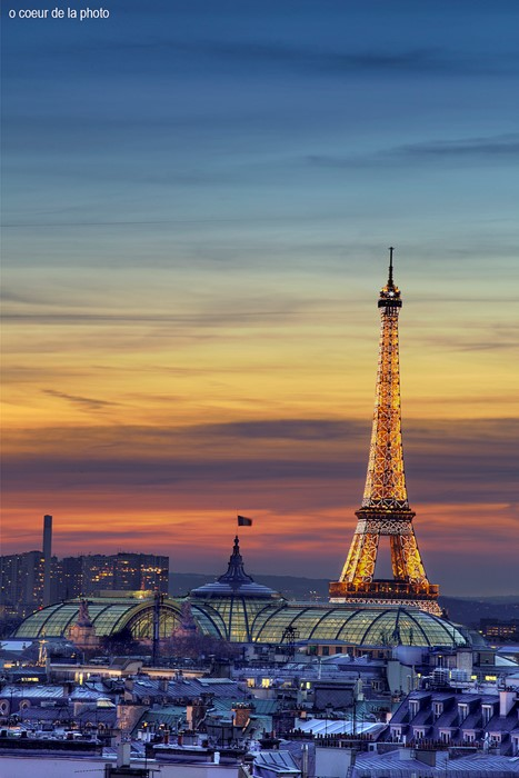 paris eiffel tower travel architecture sky sunset tower outdoors water city evening building